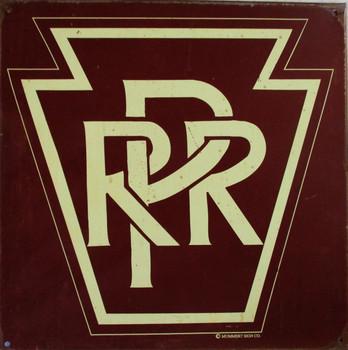 Pennyslvania Rail Road Rustic Limited Metal Sign