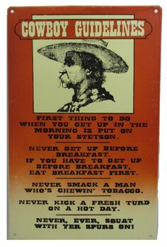 Cowboy Guidelines