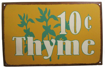 Hy Test Coffee Can Rustic Retro Old Style Metal Sign