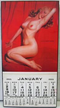 Marilyn Monroe 1955 Calendar Laminated