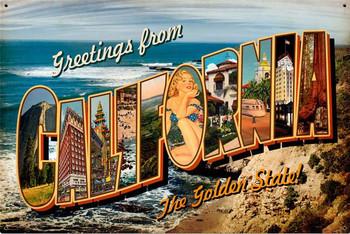 California Postcard (XLarge)