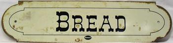 Bread Metal Plaque