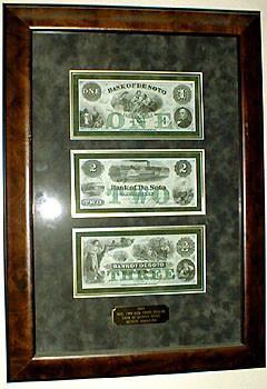 1, 2 & 3 Dollar Bank of De Sota