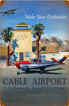 Cable Airport Vintage