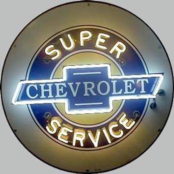Chevrolet Advertising Neon