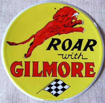 """Roar with Gilmore (12"""" round)"""
