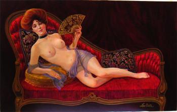 Evelyn Nesbitts Limited Edition Artist Enhanced Canvas