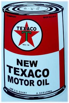 Texaco Motor Oil Can (medium)