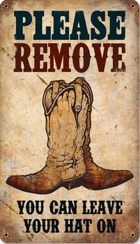 Please Remove Boots