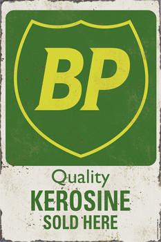 BP Quality Kerosene Metal Sign