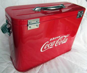 Coca-Cola Airline Cooler Chest Circa 1950 Fully Restored