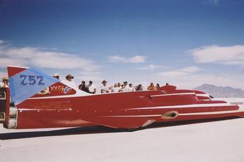 Salt Flat Car #752