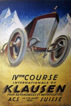 Klausen Racing Canvas