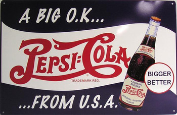 Pepsi:Cola A Big O.K.... From U.S.A.