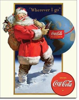 Coke-Santa Globe