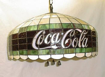Coca Cola Soda Fountain Chandelier
