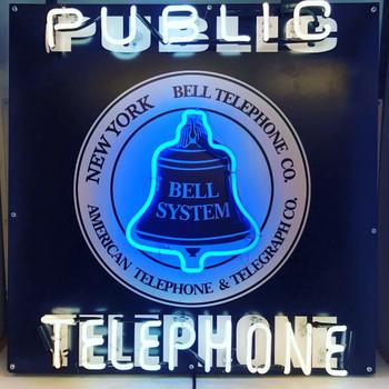 Public Telephone Neon