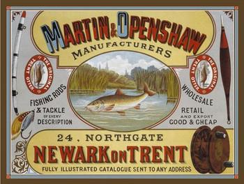 Martin & Openshaw Fishing Rods