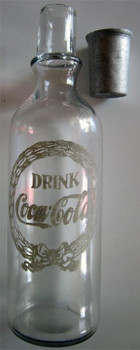 Coca-Cola Glass Syrup Bottle