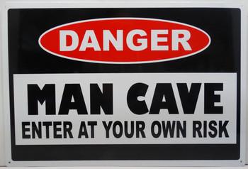 Danger-Man Cave