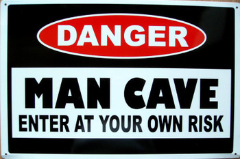Danger-Man Cave