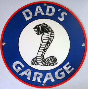 Dad's Garage Shelby Cobra Logo