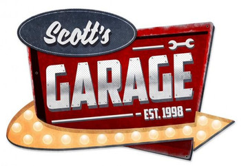 3-D Garage Personalized