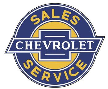 "Chevrolet Sales-Service 18"""