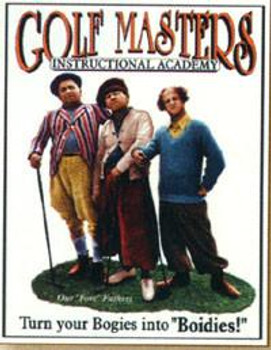 Stooges - Golf Masters (Disc)