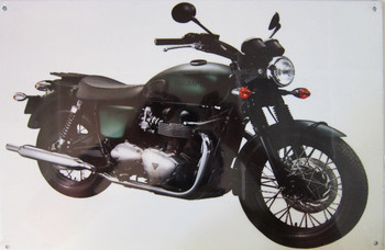 Triumph Motorcycle Metal Sign