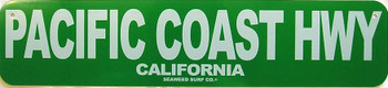 Pacific Coast Hwy Metal Sign