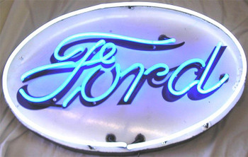 Ford Oval Neon