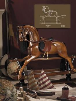 Victorian English Rocking Horse  RH006