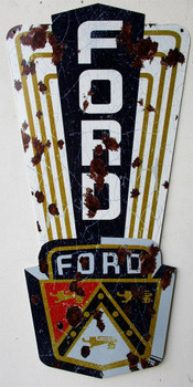 "Ford Jubilee 44"" Plasma Cut Metal Sign"