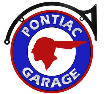 "Pontiac Garage 18"" Disc Hanging"