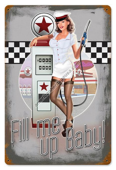 50's Pump Girl Fill Me Up Baby