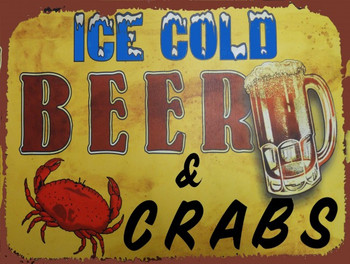 Ice Cold Beer & Crabs