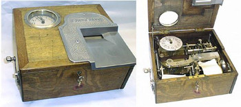 Stafsine Cash Drawer with Time Recorder