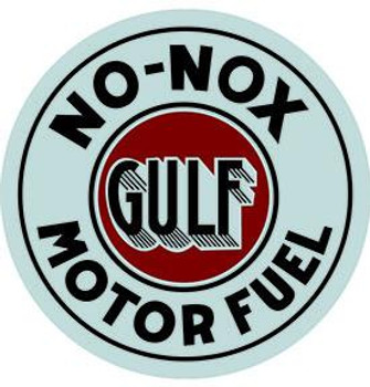 Gulf No-Nox Motor Fuel 12""
