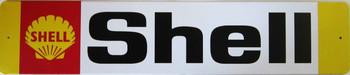 Shell Banner Metal Sign