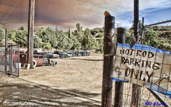 Hot Rods Parking Only