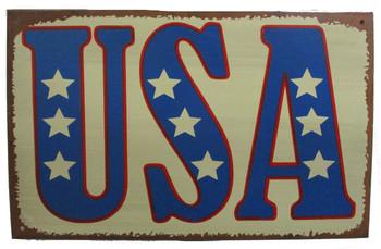 USA Patriotic Sign