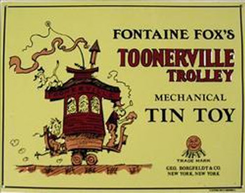 Toonerville Trolley Tin Toy