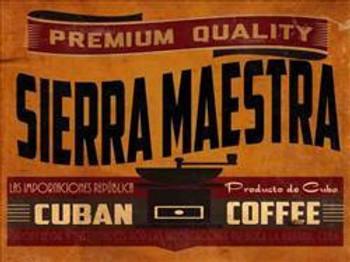 Sierra Maestra Metal Sign