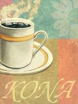 Kona Coffee Metal Sign