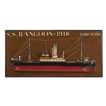 """Tramp Steamer """"Rangoon'  AS300"""