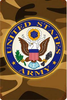 United States Army Vintage Metal Sign
