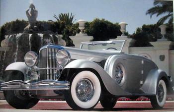 1936 Duesenberg SJN Rollston Convertible Coupe
