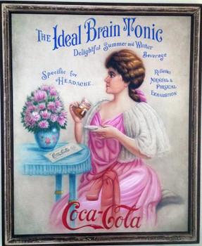 Victorian Girl Advertisting Art