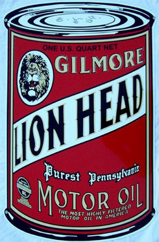 Gilmore Lion Head Oil Can